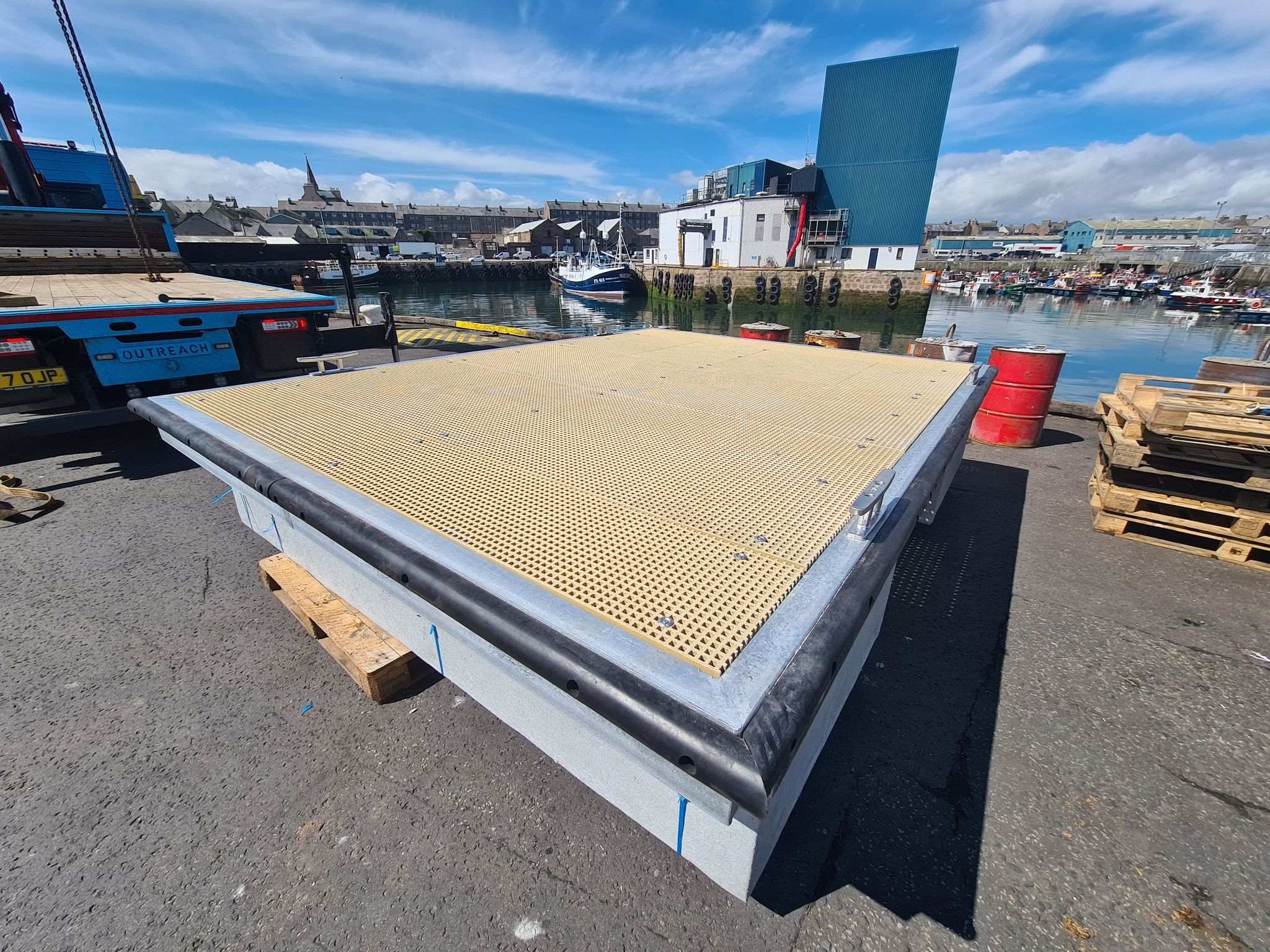 Peterhead 4m x3m pontoon 2