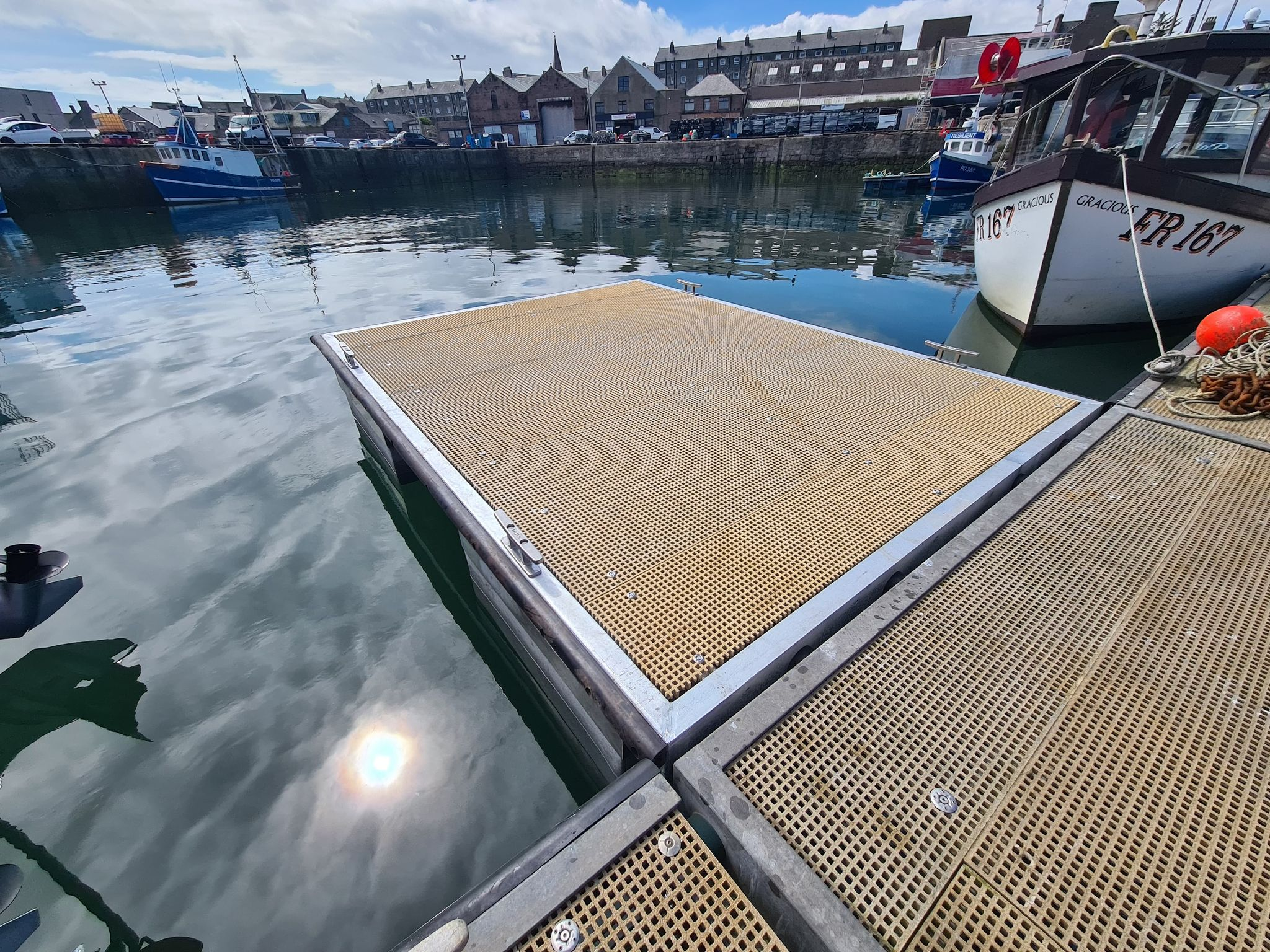 Peterhead 4m x3m pontoon 3